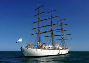 Gana'da tutulan Arjantin gemisi bırakıldı