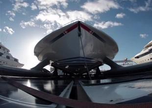 Güneş enerjisi ile çalışan araştırma gemisi