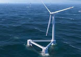 Denizde elektrik üreten rüzgar çiftlikleri