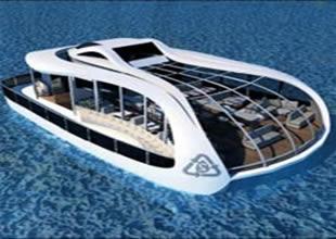 İstanbul'un simgesi laleden gemi tasarımı