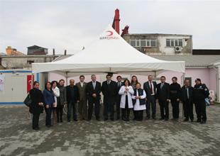GİSBİR'den kan bağışı kampanyasına destek