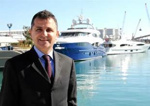 Antalya Serbest Bölge'de 2014 yılında 27 lüks yat denize indirildi