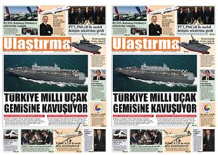 Ulaştırma Gazetesi'nin son sayısı çıktı