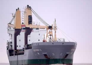 Gine Körfezi'nde kuruyük gemisi kaçırıldı