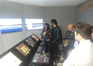 Denizcilik öğretmenleri simülatör eğitiminde