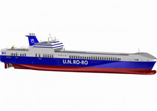 Yeni gemi UN İstanbul Trieste'ye çalışacak