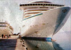 Kuşadası Limanı Yeni terminalde