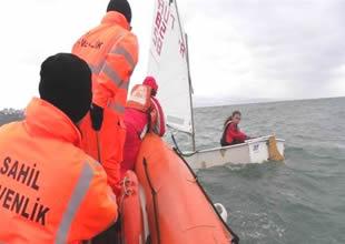 Sahil Güvenlik Samsun'da göz açtırmadı