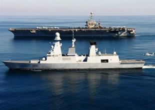 Fransız Destroyeri 5. ABD filosuna katıldı