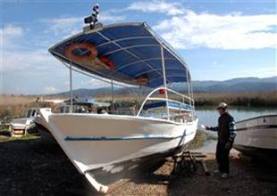 Muğla'da tur teknelerinin bakım zamanı