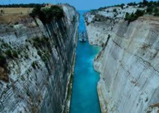 Komşu, Korint Kanalı'nı genişletecek