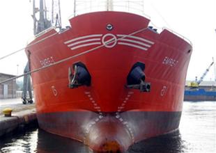 Hacizli geminin mürettebatı mahsur