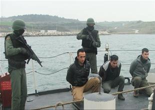 Kaçakçılıkla mücadele tatbikatı yapıldı