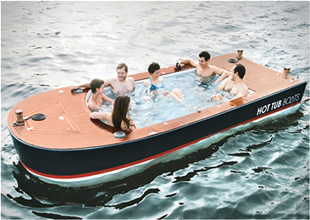 Sadece jakuzi amaçlı üretilen tekne