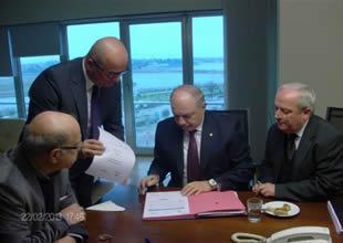ADİK, LST projesi için anlaşma imzaladı