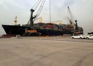 Limakport'tan konteyner operasyonu