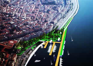 İzmir'in kıyı şeridi artık böyle olacak