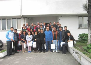 Arhavi MYO öğrencileri Hopa Limanı'nda