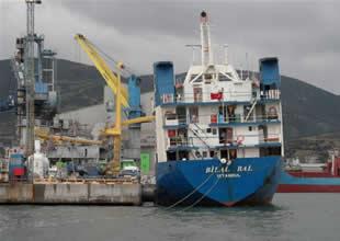 İnebolu Limanı'nda gemi kazası
