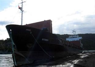 Gürcistan'da Türk gemisine el koyuldu