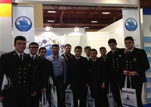 Denizci öğrenciler Europort Fuarı'nda