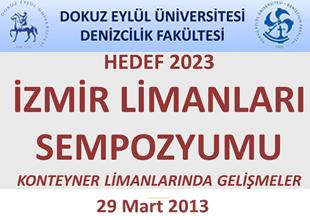 'İzmir Limanları Sempozyumu' 29 Mart'ta