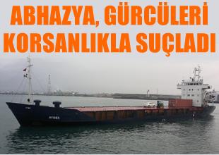 Abhazya'dan Tiflis'e korsan suçlaması