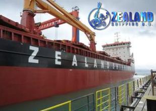 M/V Zealand Amalia denizle buluştu