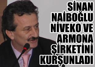 Naiboğlu, Armona Denizcilik'i kurşunladı