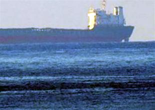 Kızıldeniz'de durdurulan gemide silah yok