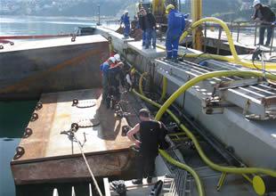 Batık ALİCAN S'e operasyon başladı