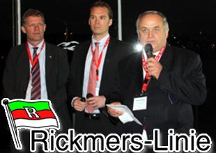 Rickmers-Linie'dan kusursuz hizmet