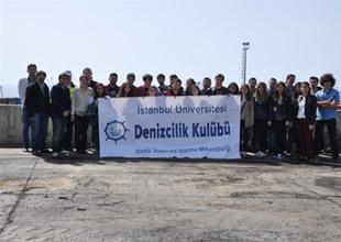 İÜ'lü öğrenciler Mardaş Limanı'nda