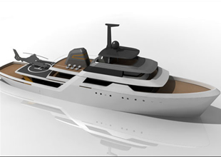 Araştırma gemisinden bozma yat tasarımı