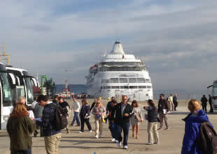 Kruvaziyer turizminde liman büyük eksiklik