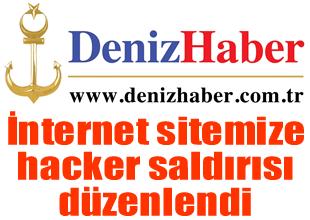 İnternet sitemize hacker saldırısı yapıldı
