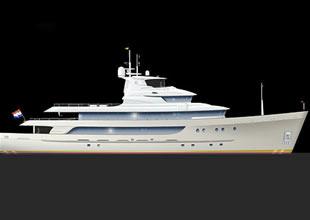 Erdevicki'nin  gemiden bozma yat tasarımı
