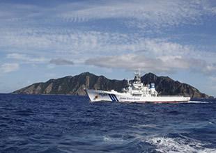 Çin tartışmalı adalara 8 gemi gönderdi