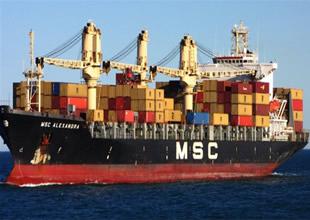 Dev gemi, Çanakkale Boğazı'nı kapattı