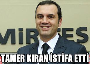 Tamer Kıran, Beşiktaş'tan istifa etti!