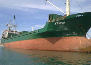 M/V Piri Reis, Consouth gemisiyle çatıştı