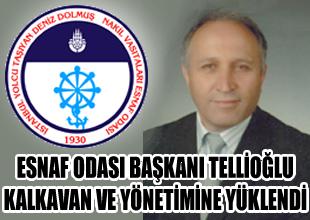 Fahrettin Tellioğlu, Kalkavan'a yüklendi