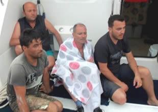 Marmaris'te gezi teknesi alev alev yandı