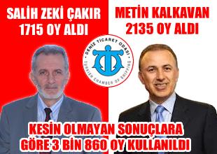 İMEAK DTO seçimlerinde rekor kırıldı