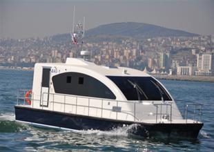 VIP Deniz Minibüsü Boğaz sularında