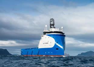 Ulstein 'Blue Thunder' gemisini teslim aldı