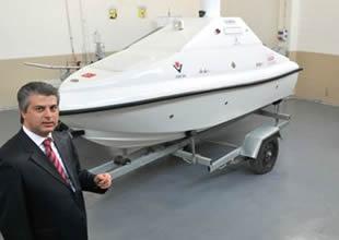 Mühendislerimiz  insansız deniz aracı üretti