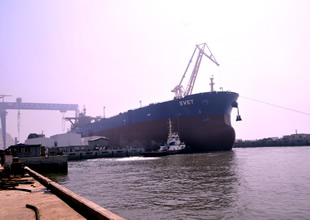 İlk VLCC 2013 sonunda sefere çıkacak