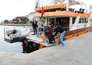 GİSBİR'den engelleri kaldıran tekne turu