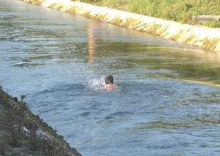 """Su kanallarında """"yüzmeme"""" uyarısı"""